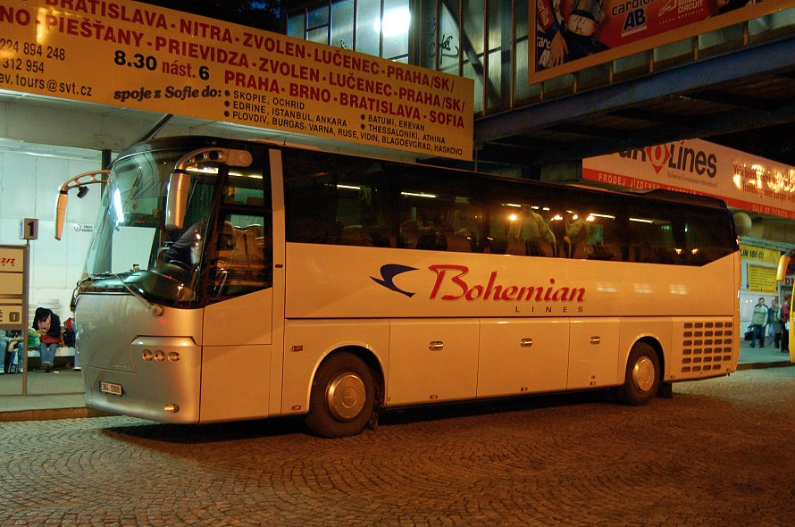 279 Brno - Stockholm (15:40)