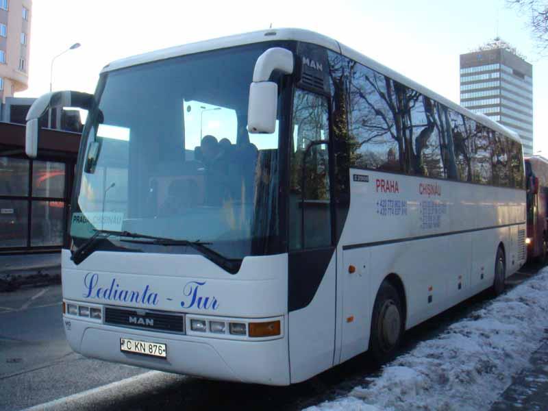 368 Прага - Кишинев