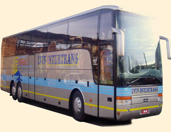 Зелёна Гура - Киев bus 1