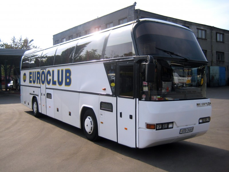 Схема автобуса.